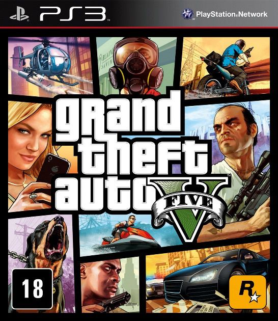 GTA V - PS3  - Joy Games