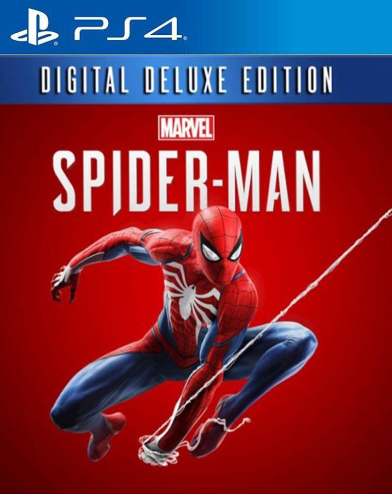 Homem Aranha Spider Man Digital Deluxe- PS4  - Joy Games