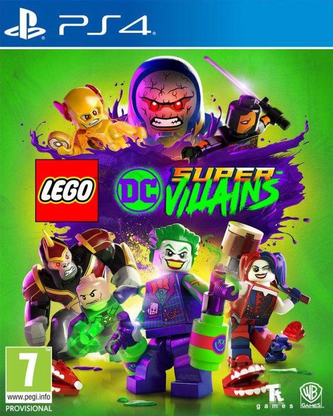 Lego Dc Super Vilões - PS4  - Joy Games