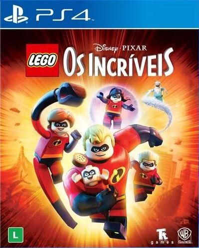 Lego Os Incríveis - PS4   - Joy Games