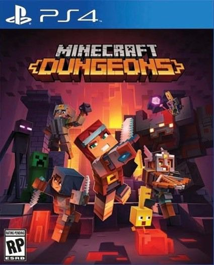 Minecraft Dungeons - PS4  - Joy Games