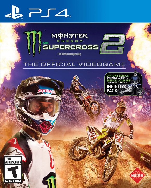 Monster Energy Supercross 2 - PS4  - Joy Games