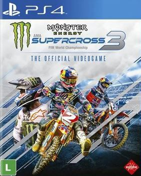 Monster Energy Supercross - The Official Videogame 3 - PS4  - Joy Games