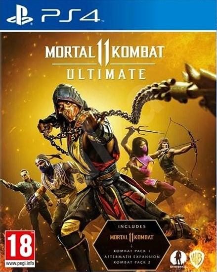 Mortal Kombat 11 Ultimate com Aftermath - PS4  - Joy Games