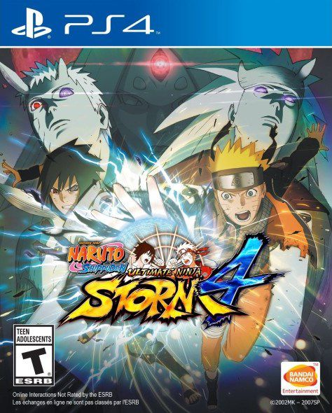 Naruto Shippuden Ultimate Ninja Storm 4 - PS4  - Joy Games