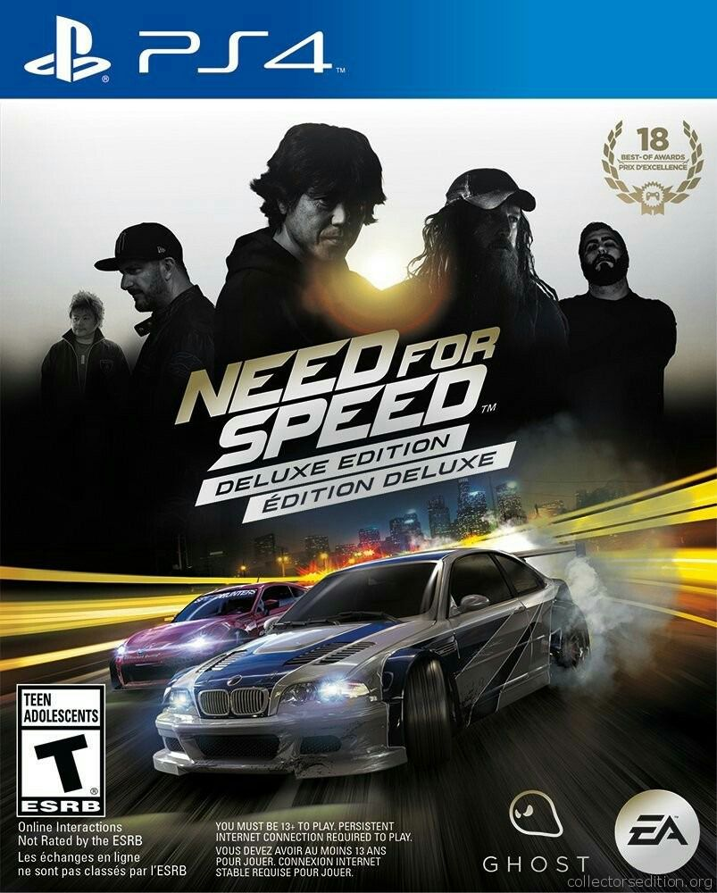 Need For Speed Deluxe Edition - PS4  - Joy Games