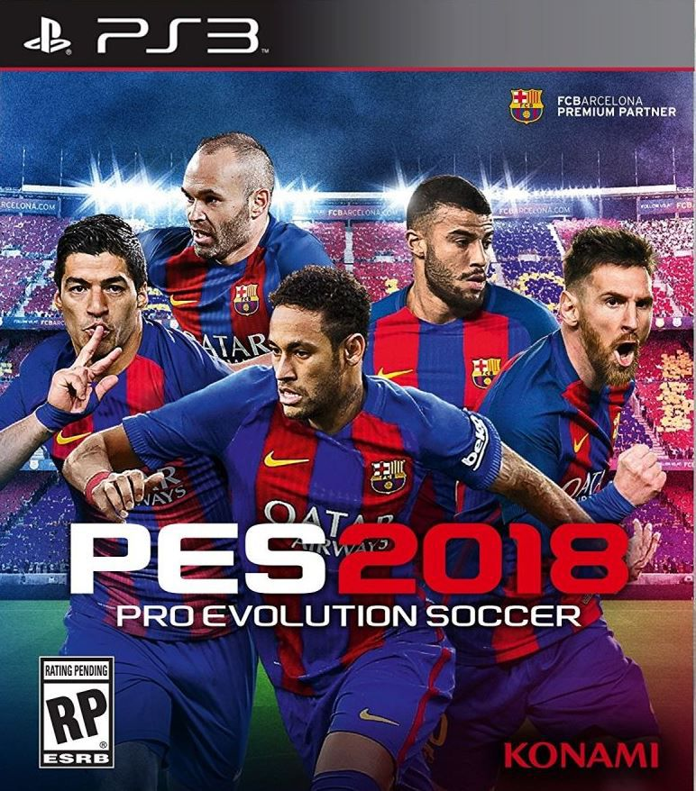 PES 2018  - PS3  - Joy Games