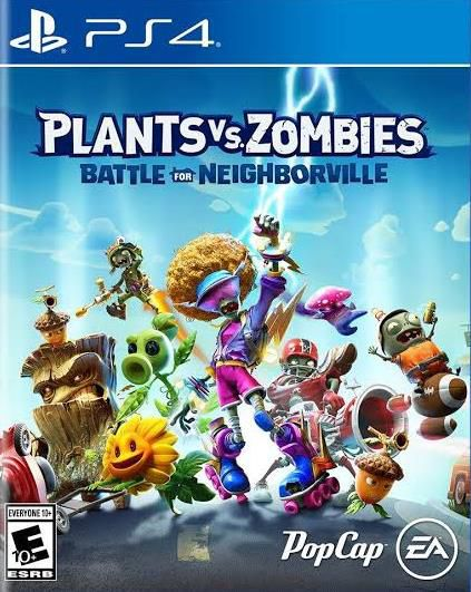 Plants vs Zombies Battle for Neighborville - PS4  - Joy Games
