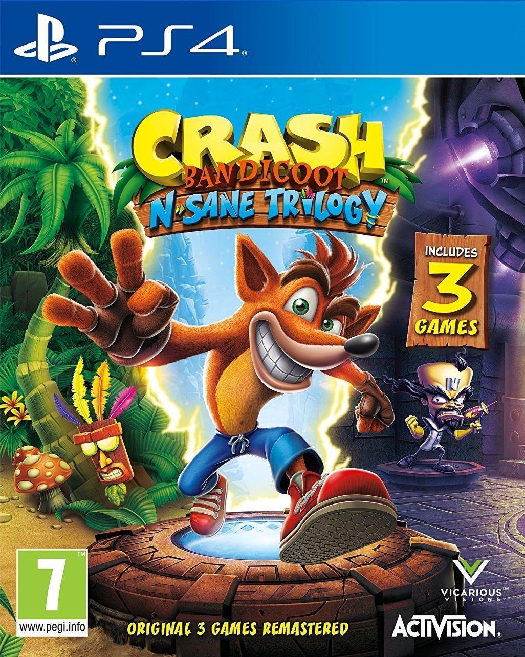 Crash Bandicoot N. Sane Trilogy - PS4   - Joy Games