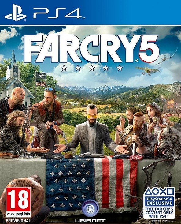 Far Cry 5 - PS4   - Joy Games
