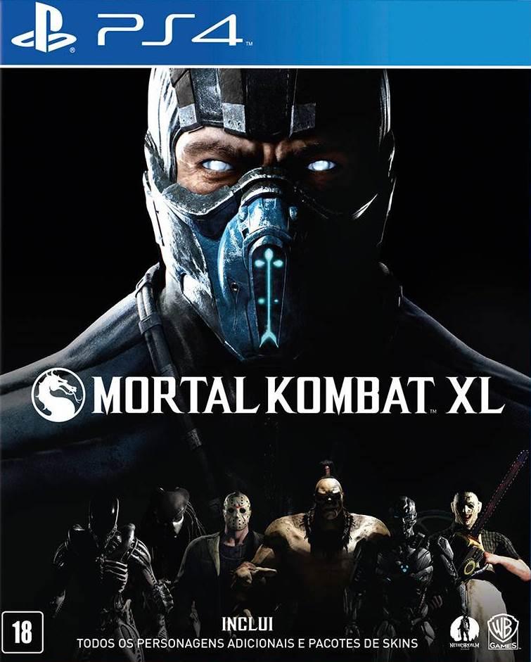 Mortal Kombat XL - PS4  - Joy Games