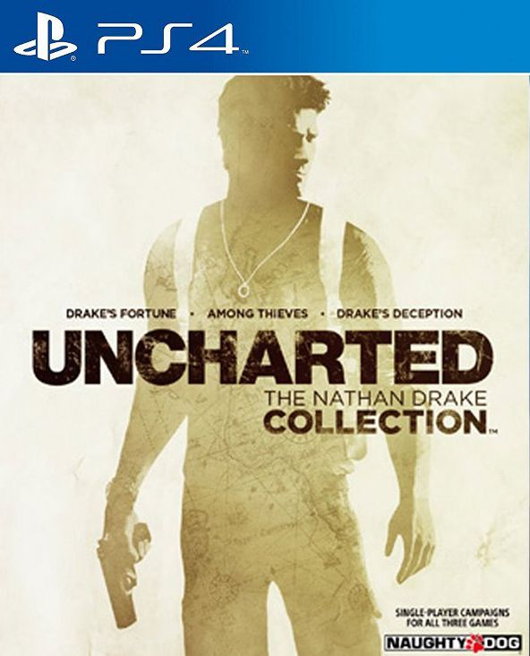 Uncharted The Nathan Drake Collection - PS4  - Joy Games