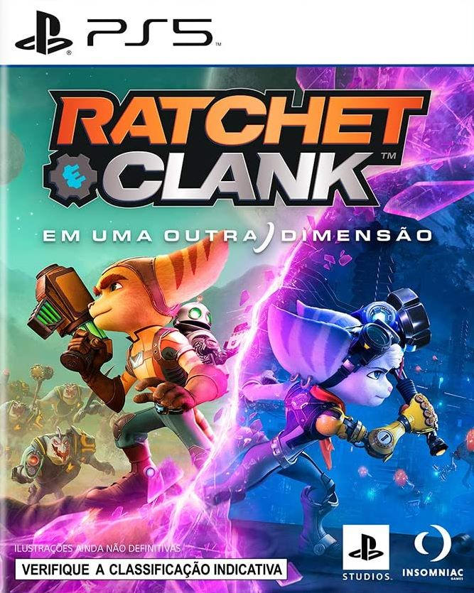 Ratchet & Clank Em Uma Outra Dimensão - PS5  - Joy Games