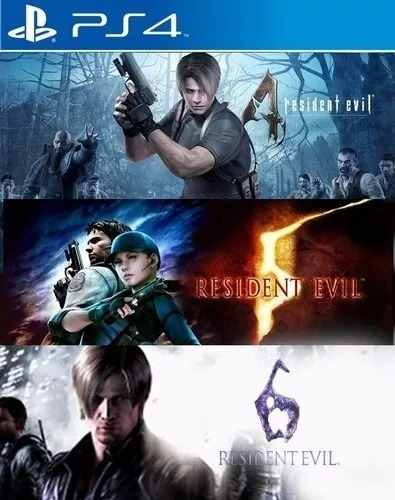 Resident Evil Triple Pack - PS4  - Joy Games