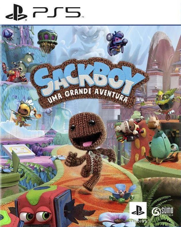 Sackboy Uma Grande Aventura PS4 e PS5  - Joy Games