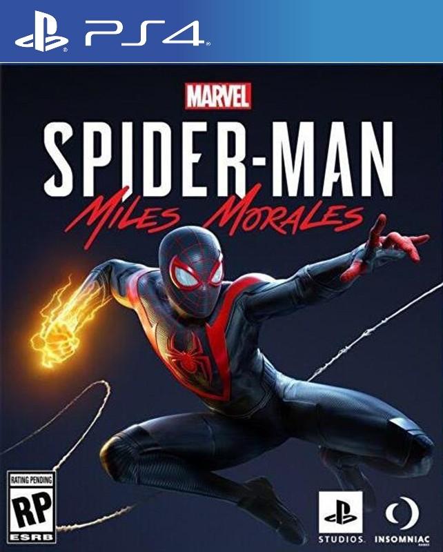 Spider Man Miles Morales - PS4  - Joy Games