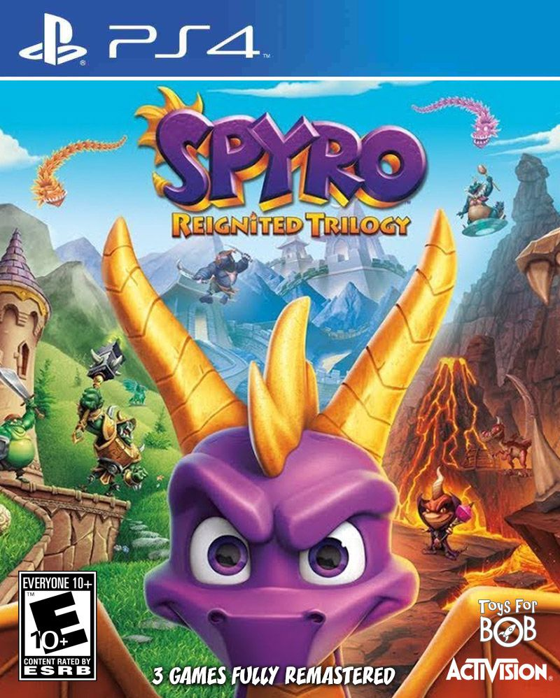 Spyro Trilogia- PS4  - Joy Games