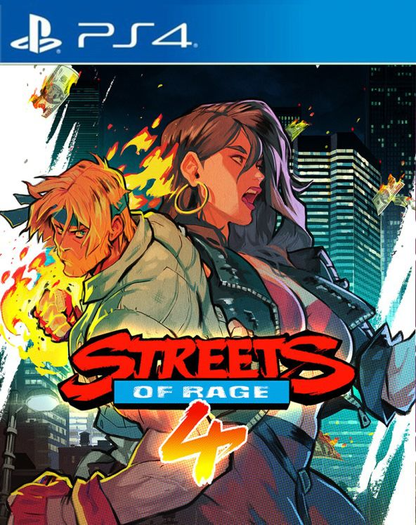 Streets of Rage 4 - PS4  - Joy Games