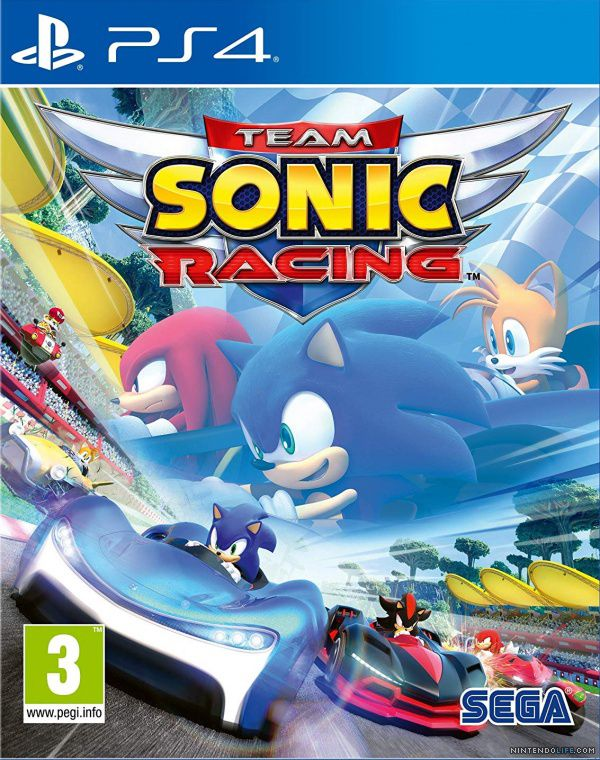 Team Sonic Racing - PS4  - Joy Games