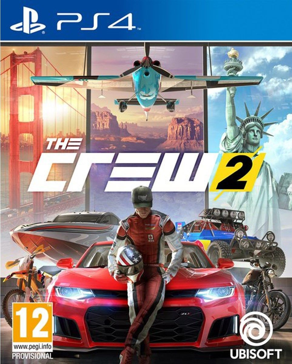 The Crew 2 - PS4  - Joy Games