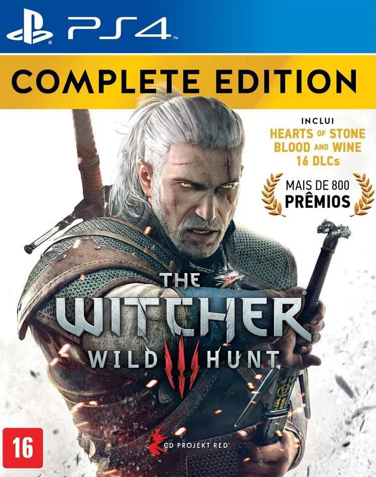 The Witcher 3 Complete Edition - PS4   - Joy Games