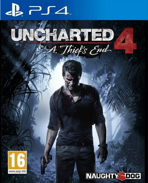 Uncharted 4 - PS4  - Joy Games