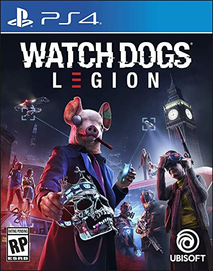 Watch Dogs Legion - PS4 e PS5  - Joy Games