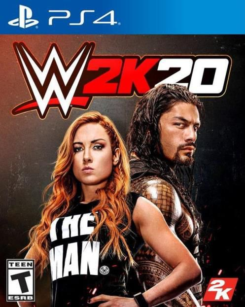 WWE 2K20 - PS4  - Joy Games