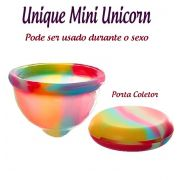 Coletor Menstrual UNIQUE MINI Unicorn 30ml + Porta Coletor