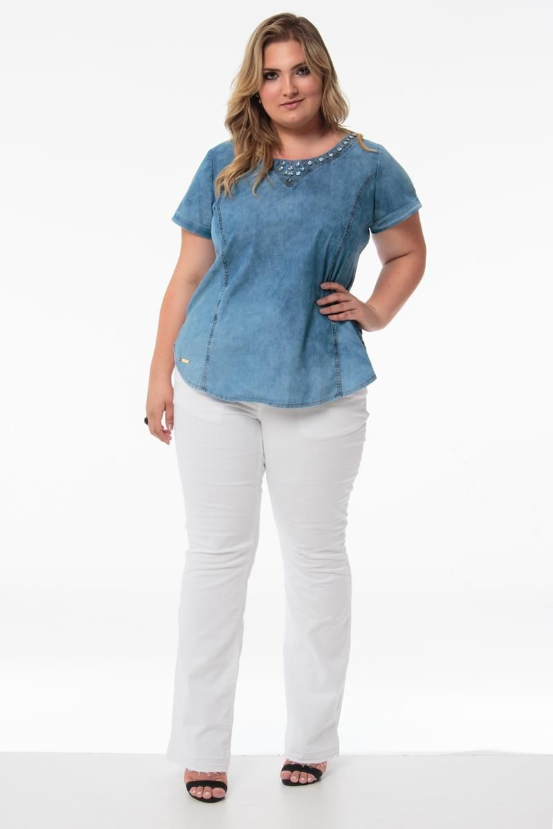 Blusa Plus Size Amanda