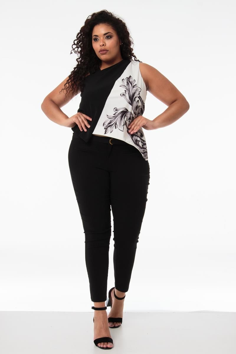Blusa Plus Size  Barbara