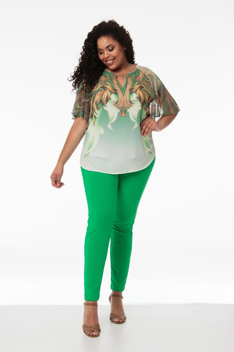 Blusa Plus Size Camila