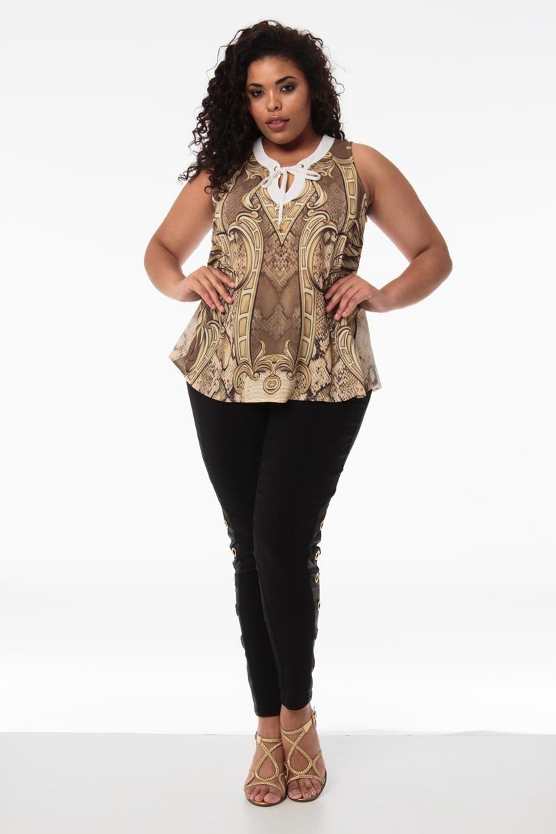 Blusa Plus Size Joyce