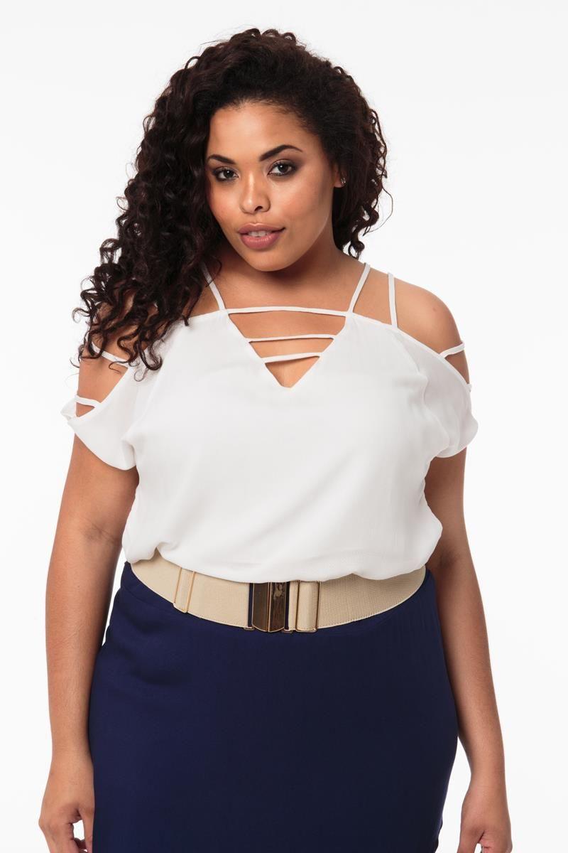 Blusa Plus Size Lala