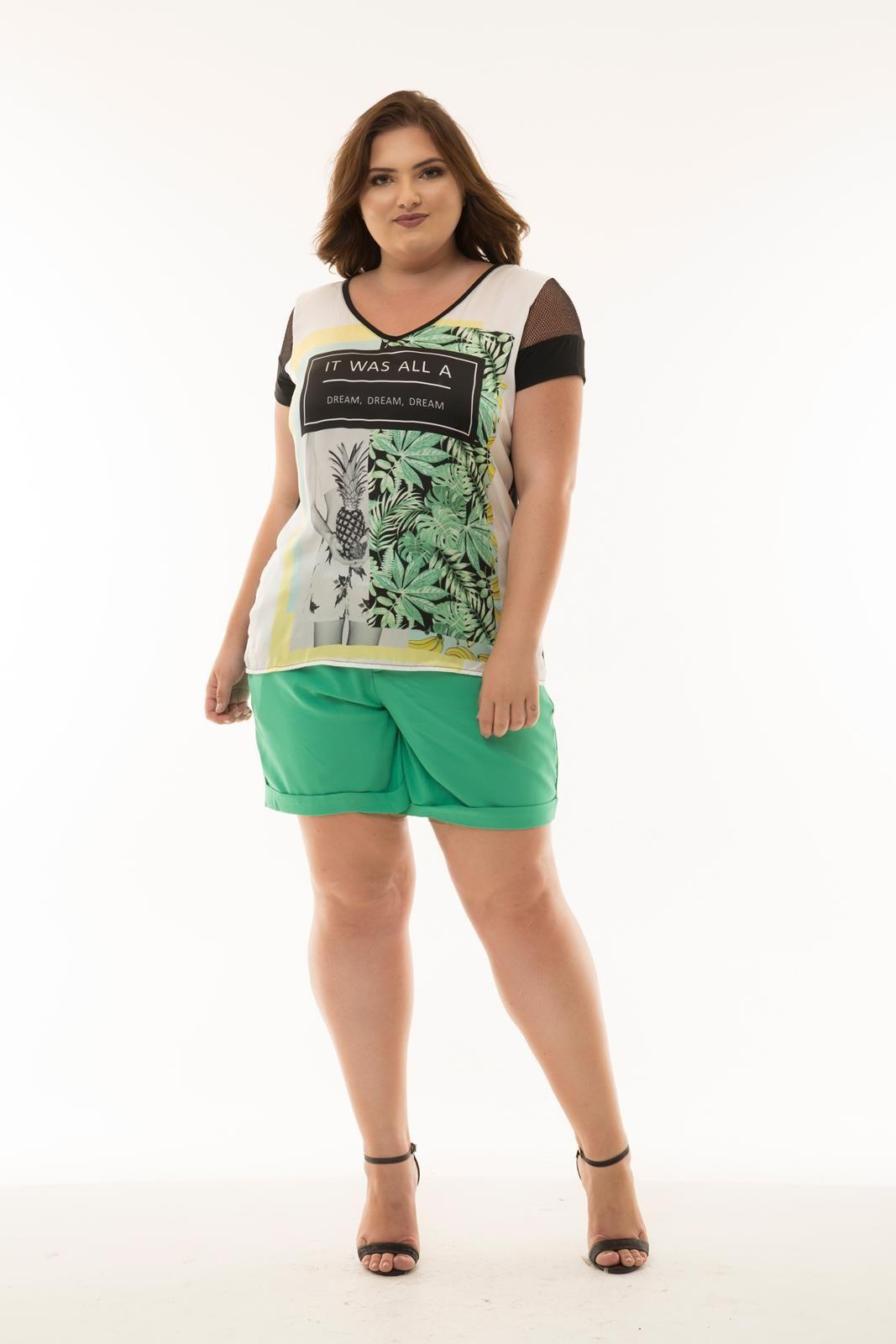 Blusa Plus Size Cintia