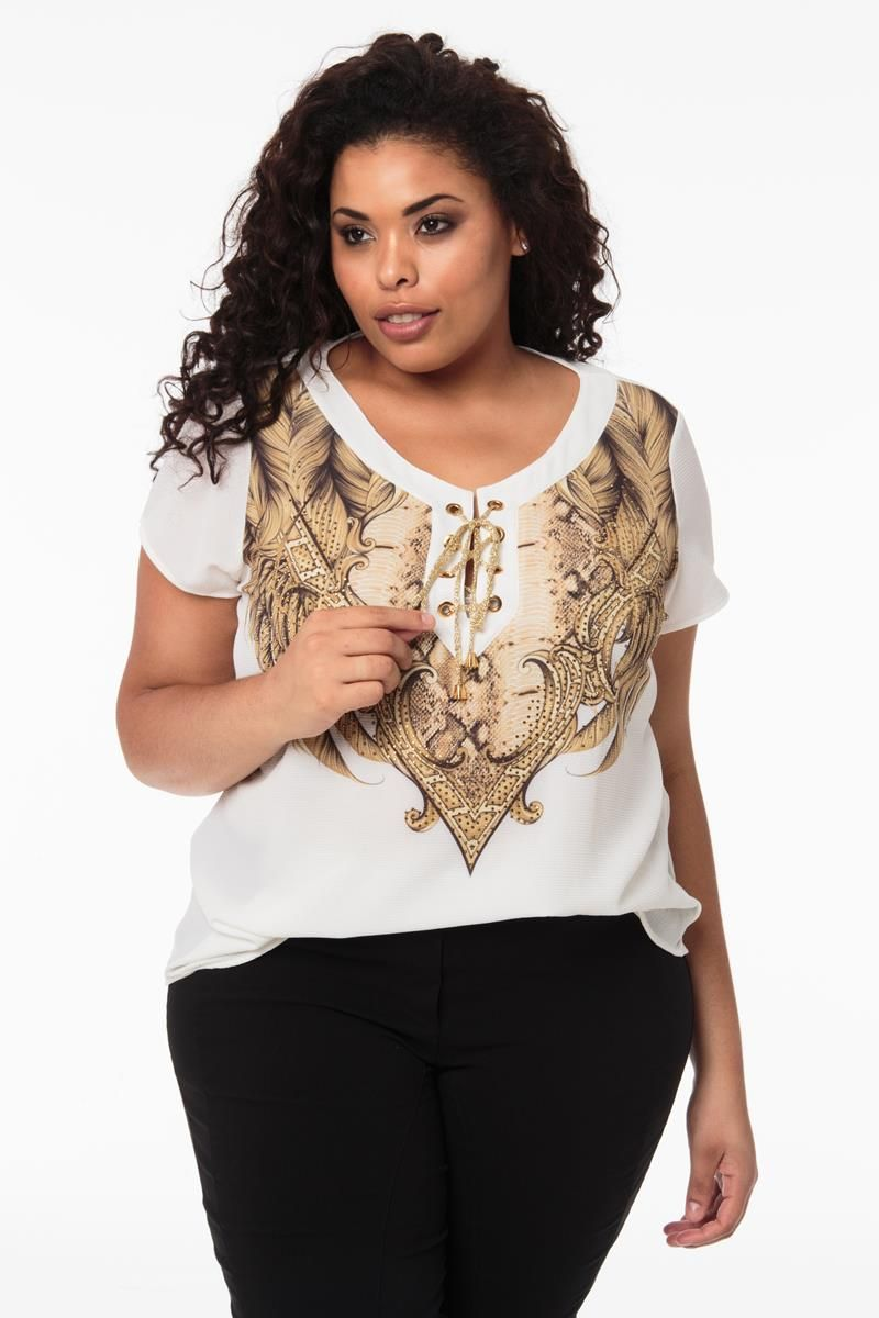 Blusa Plus Size Raissa