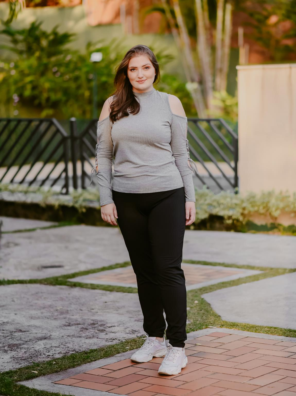 Calça legging plus size
