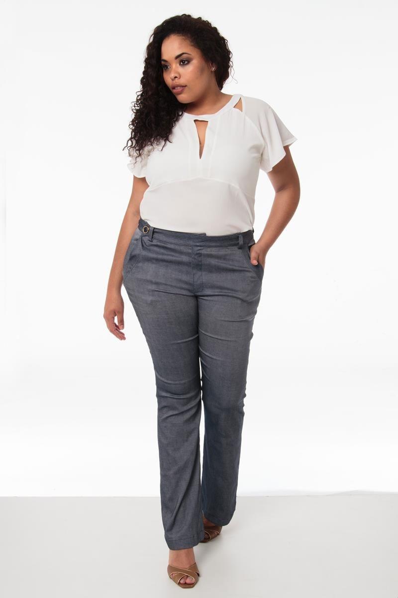 Calça Plus Size Leticia