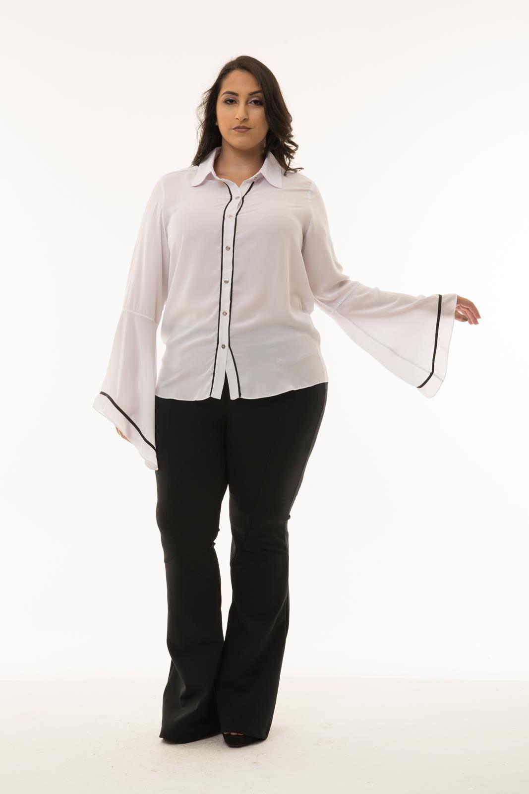 Camisa Plus Size Lavigna