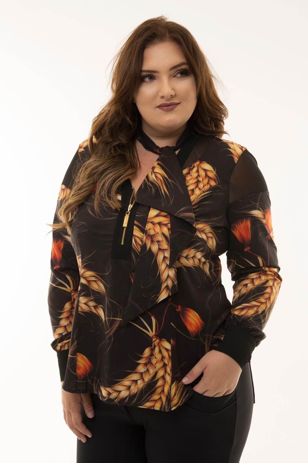 Camisa Plus Size Trigo
