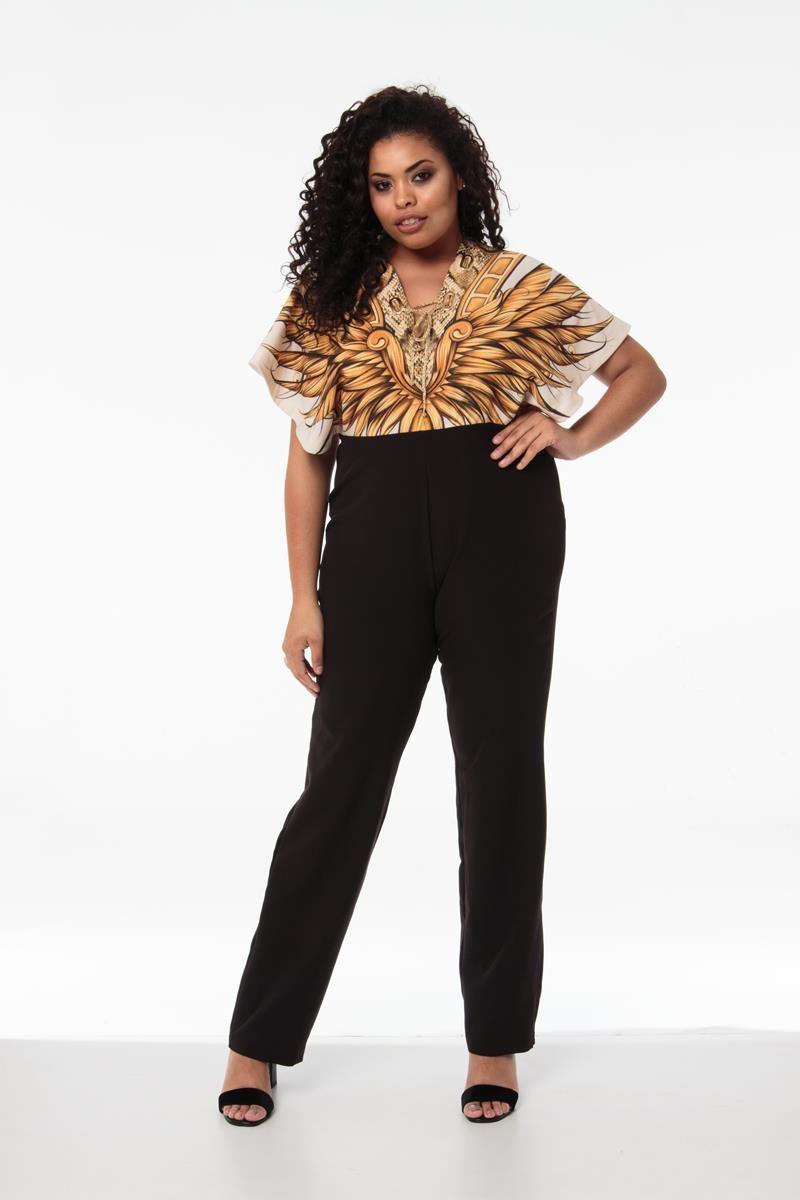 Macacão Plus Size Leona