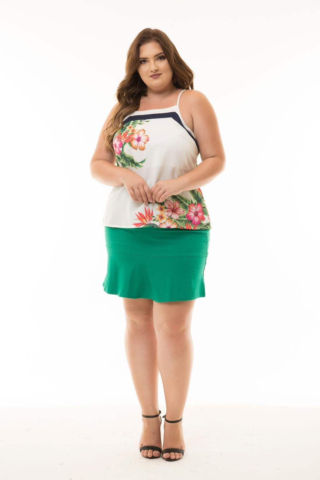 Regata Plus Size floral