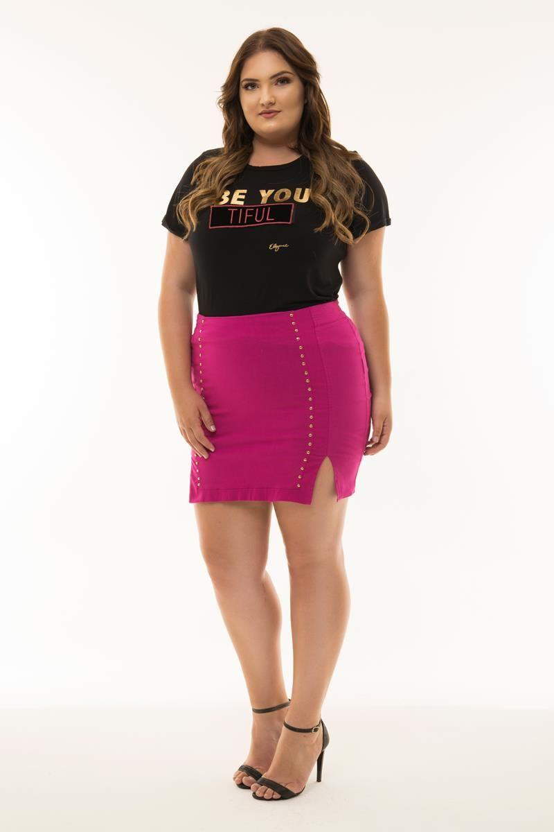 Saia Plus Size Fernanda