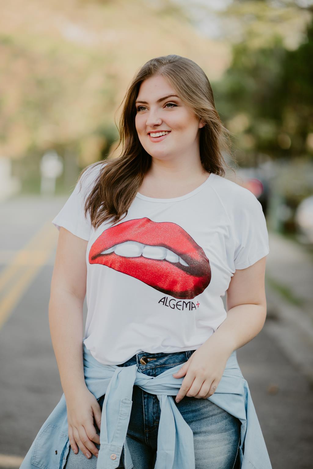 t-shirt plus size boca