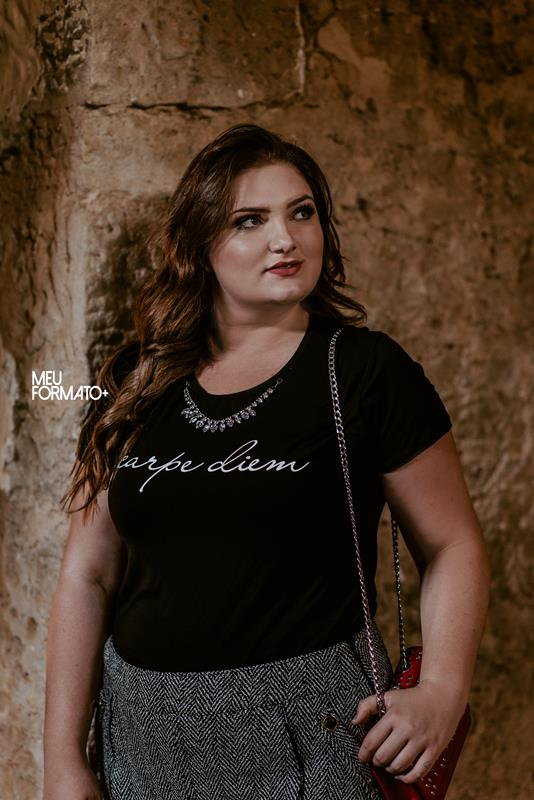 T-shirt Plus Size Carpe Diem