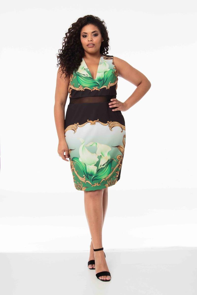 Vestido Plus Size Flavia