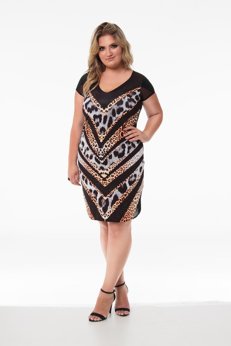 Vestido Plus Size Gabriela