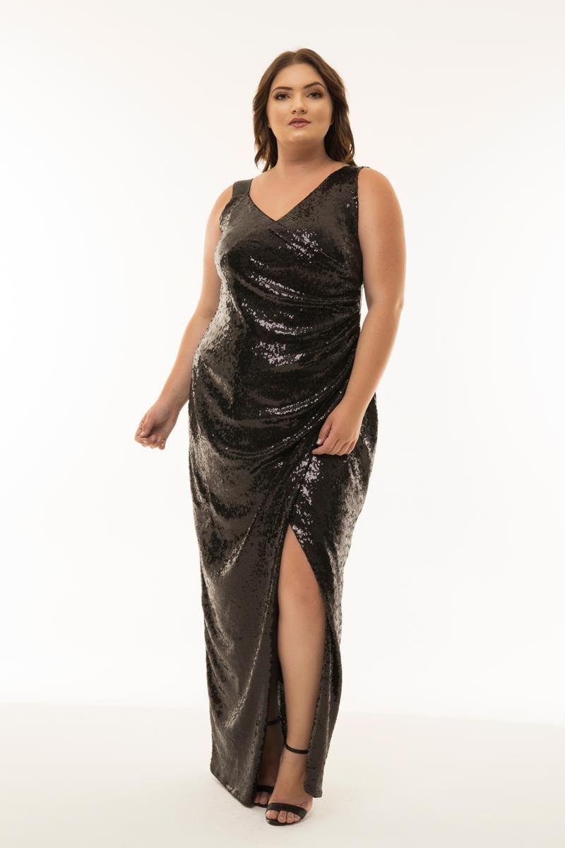 Vestido Plus Size Gisele - Coleção Herchcovitch
