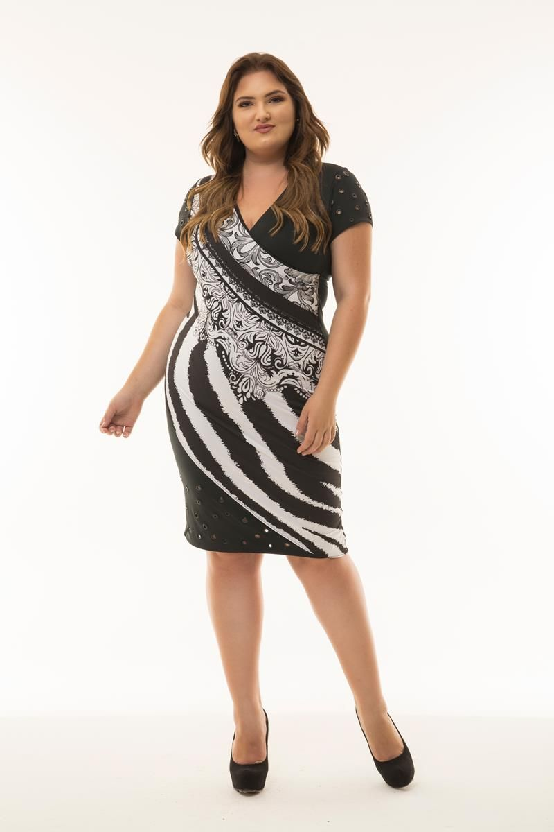 Vestido Plus Size Giuliana