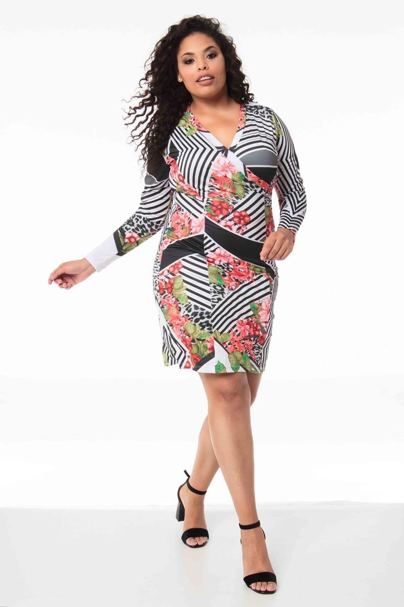 Vestido Plus Size Larissa